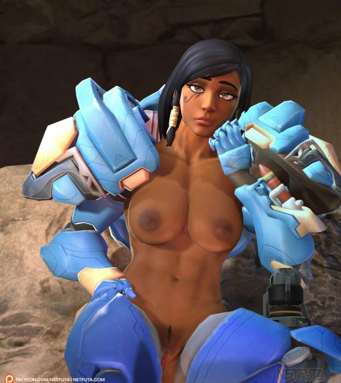 Pharah overwatch porn animation fucked anally with Tracer and Widowmaker